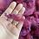 Thumbnail: Dyed Romney Fleece/Locks Pinks