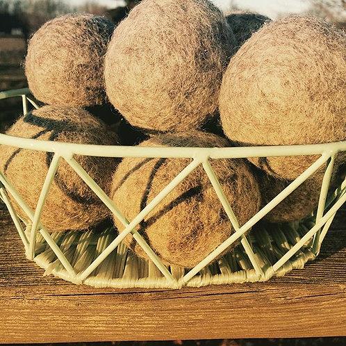 Wool Dryer Balls, set of 5