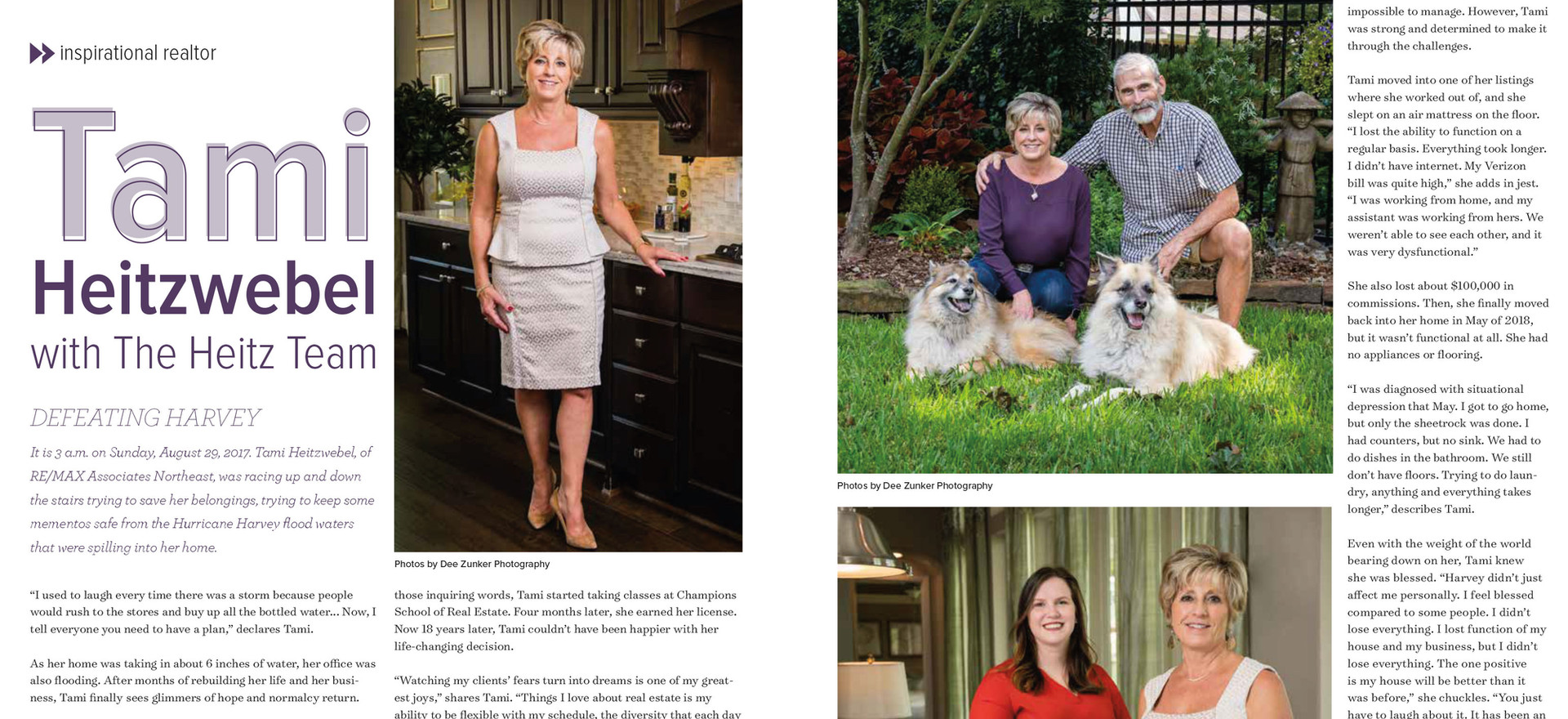 Feature Article: Tami Heitzwebel, Real Estate Agent