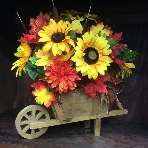 Fall Wheelbarrow