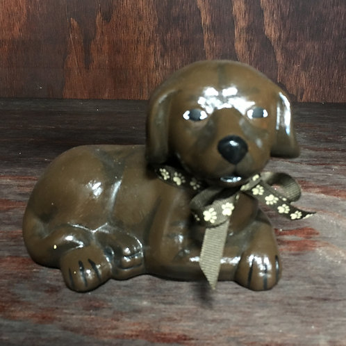 Hand-painted Dog Figure