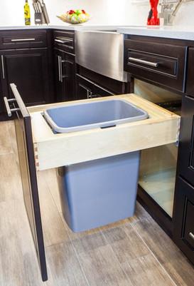 Trash Cabinets