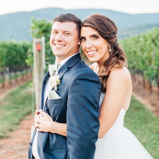 Danielle & Anthony King Family Vineyard Wedding