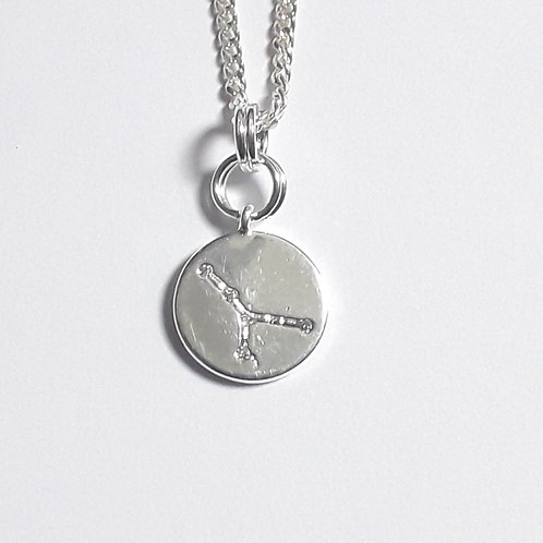 Cancer Constellation Charm Necklace