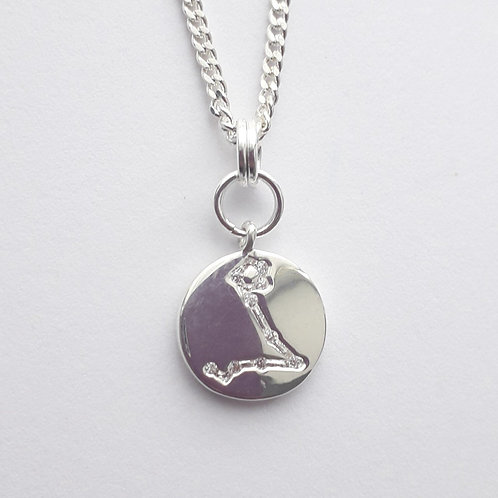 Pisces Constellation Charm Necklace