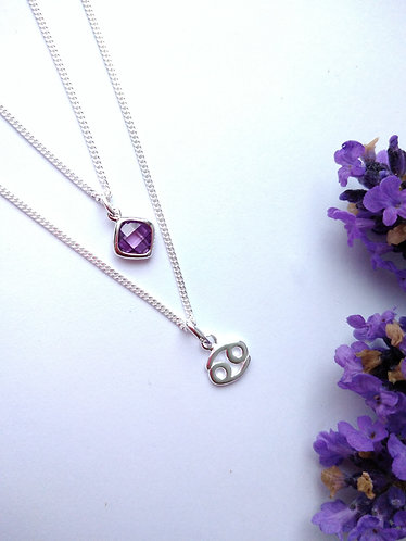 Cancer Star Sign and Charm Set.