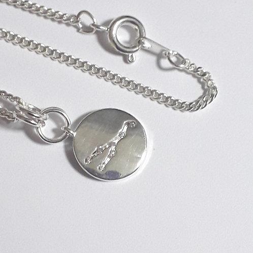 Taurus Constellation Charm Necklace