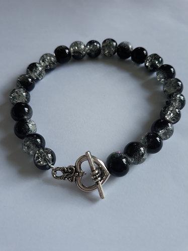 Crackle Glass Bracelet