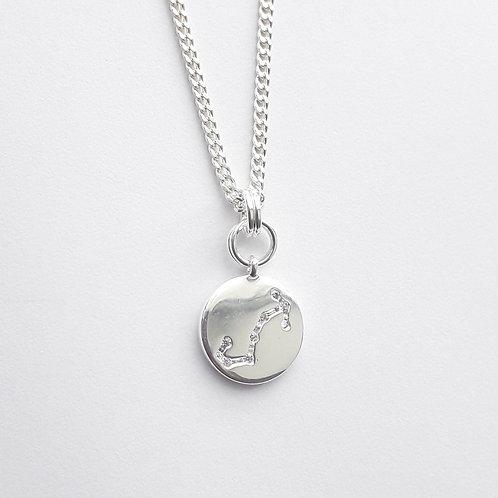 Scorpio Constellation Charm Necklace