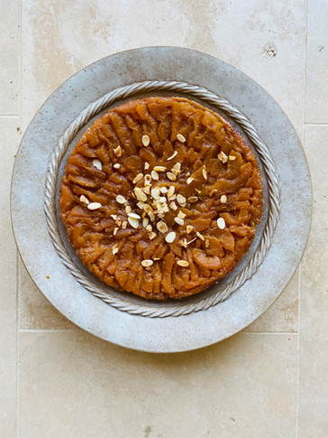 Apple & Verjuice Tarte Tatin