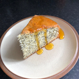 Caramelised Orange and Poppy Seed Cake