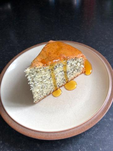 Caramelised Orange and Poppy Seed Cake