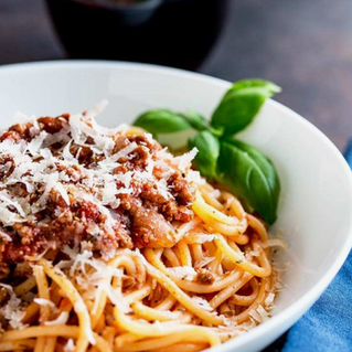 Spaghetti Bolognese with Verjuice
