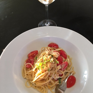 Crab Linguini with Verjuice