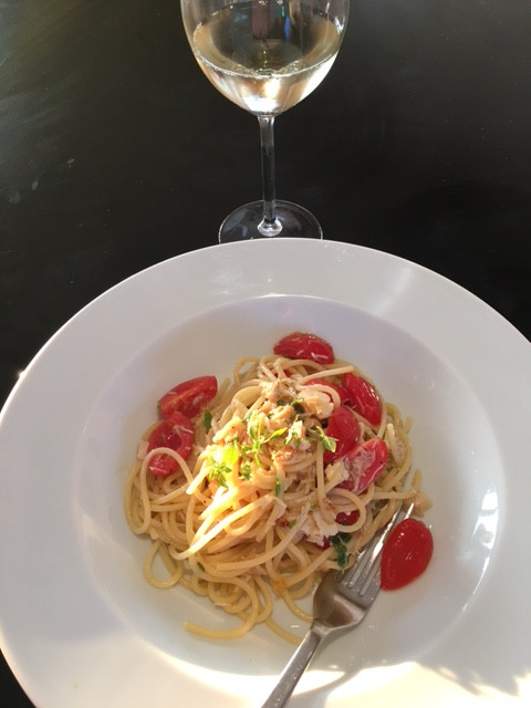 Verjuice | Crab Linguini