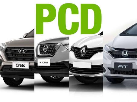 PCD aumento de teto, R$70.000,00 PARA R$140.000,00