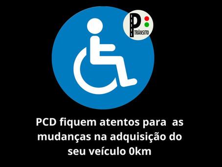 Automóvel para PCD