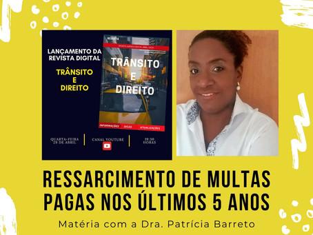 Matéria com Dra. Patrícia Barreto na revista TRÂNSITO e DIREITO