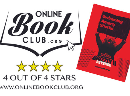 ONLINE BOOK CLUB REVIEW: Swimming Among Sharks by Suzanne C. Nagy