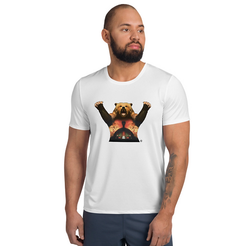 Grizzly II. Revenge Athletic T-shirt #1