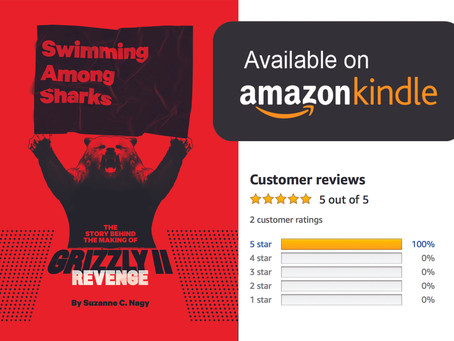 AMAZON CUSTOMER REVIEWS: Swimming Among Sharks by Suzanne C. Nagy