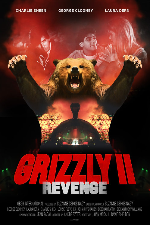 Grizzly II. Revenge Poster