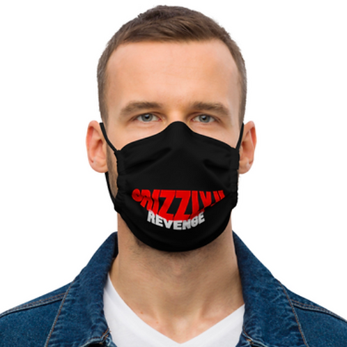 Grizzly II. Revenge Title Logo Face Mask