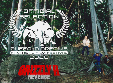BUFFALO DREAMS FANTASTIC FILM FESTIVAL: Grizzly II. Revenge nominated for Outstanding Short Feature!
