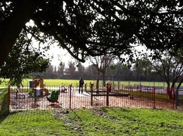 Toddler park in Victoria Park