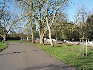 Skatepark in Victoria Park