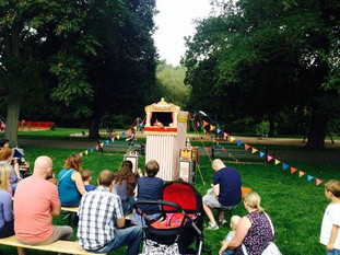 Punch and Judy in Victoria Park