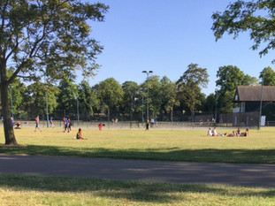 Victoria Park in the summer