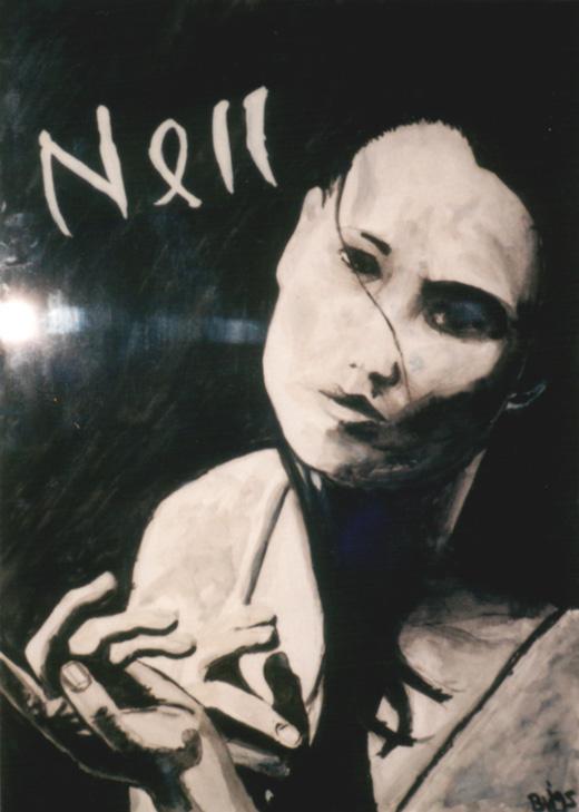 Nell, Oost Indische inkt