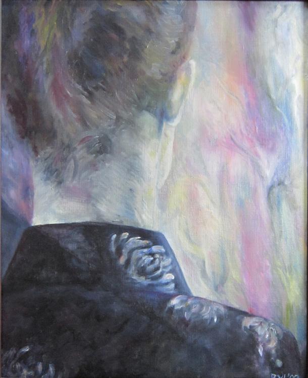 Liselot, olieverf, 52 x 62 cm