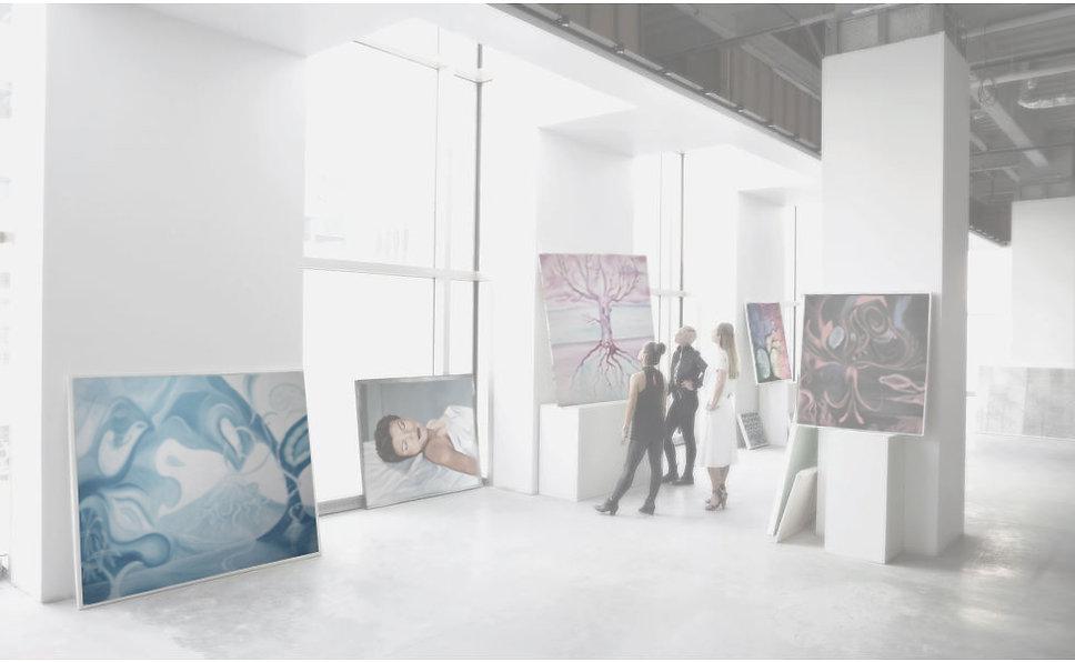 Kunst kopen - exposeren - schilderij in opdracht