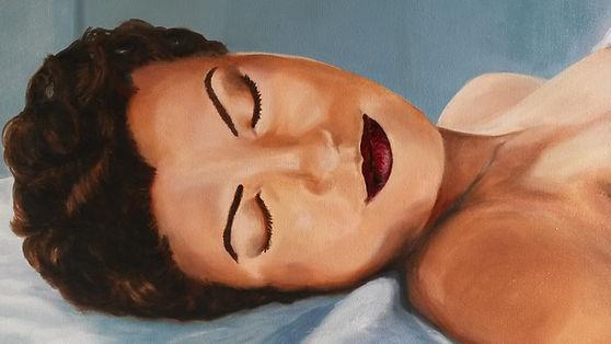 Jennifer, olieverf door Brenda van Loenen - BvL Ateliers