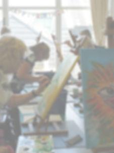 Workshop in Zaastreek - Workhop schilderen - bedrijfs uitje - workshop beeldhouwen