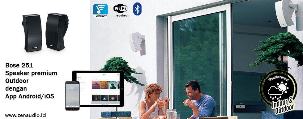 Bose 251 - Speaker Outdoor untuk Musik