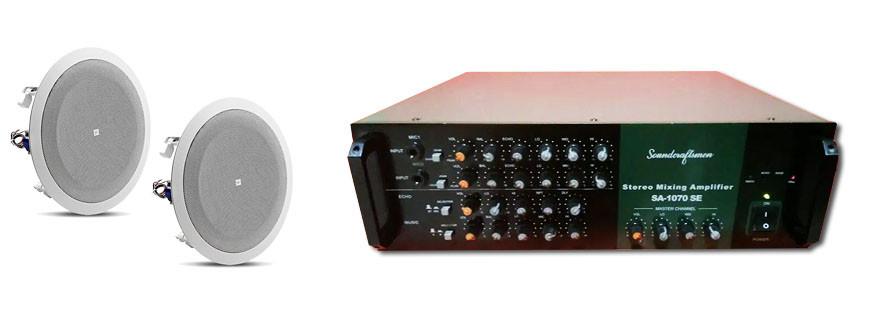 Paket sound system ekonomis untuk cafe / restoran