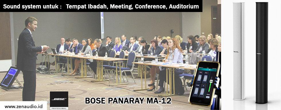 Bose Panaray MA12 - Speaker khusus untuk Speech