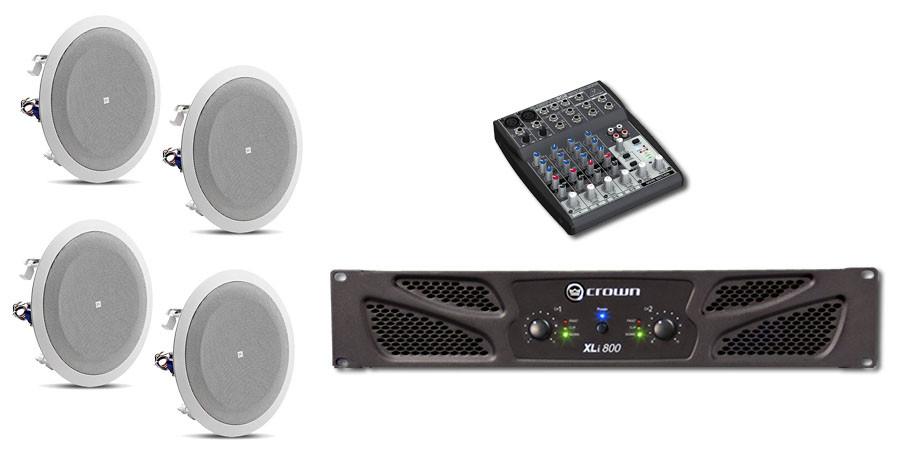 Paket sound system jbl 8128 ceiling speaker