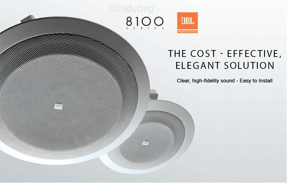 JBL 8128, speaker ceiling untuk komersial area