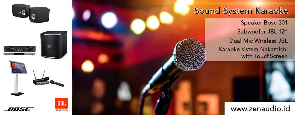 "Bose 301 - JBL Passion 12"" Subwoofer - Nakamichi Karaoke Sistem"