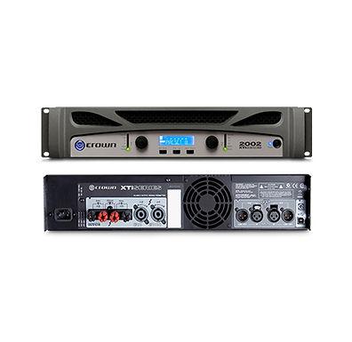 Tidak ada perdebatan lagi, saat Anda memilih Crown XTi 2002, Anda memilih power amplifier terbaik dan paling innovative saat ini. Power amplifier Crown XTi 2002 melanjutkan standar sebelumnya untuk performa tak tertandingi bekerja setiap hari tanpa lelah.