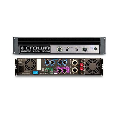 Power amplifier Crown Macro-Tech i Series menghasilkan tenaga yang luar biasa, berat yang ringan dan penggunaan yang mudah. Series ini memiliki fitur on-board analog signal processing dan koneksi jaringan.