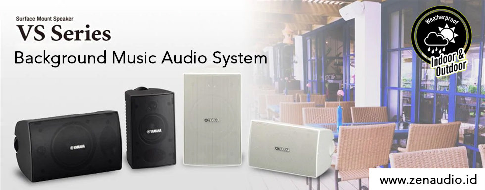 Paket Sound System Background Music Cafe Restoran