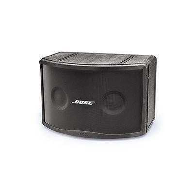 Speaker Bose Panaray 802 IV adalah speaker dengan rangkaian driver array full-range dengan hasil suara yang besar tanpa membutuhkan tambahan crossover dan tweeter. Dengan desain paten ArticulatedArray dan jangkauan luas 120° x 100° dapat mengurangi jumlah speaker yang dibutuhkan. Selain itu, dengan jangkauan frekuensi rendah hingga 52 Hz, Anda tidak memerlukan tambahan Subwoofer, sehingga dapat meminimalkan budget. Dapat diaplikasikan di ruangan indoor maupun outdoor.