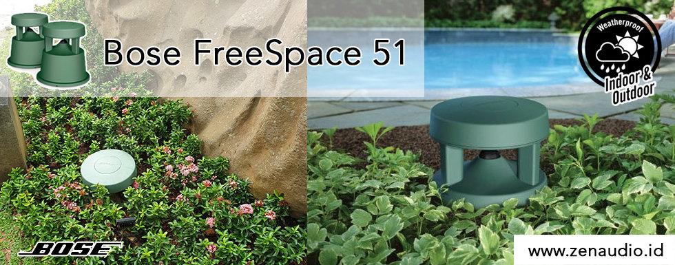 Bose FreeSpace 51 - Speaker Taman Outdoor
