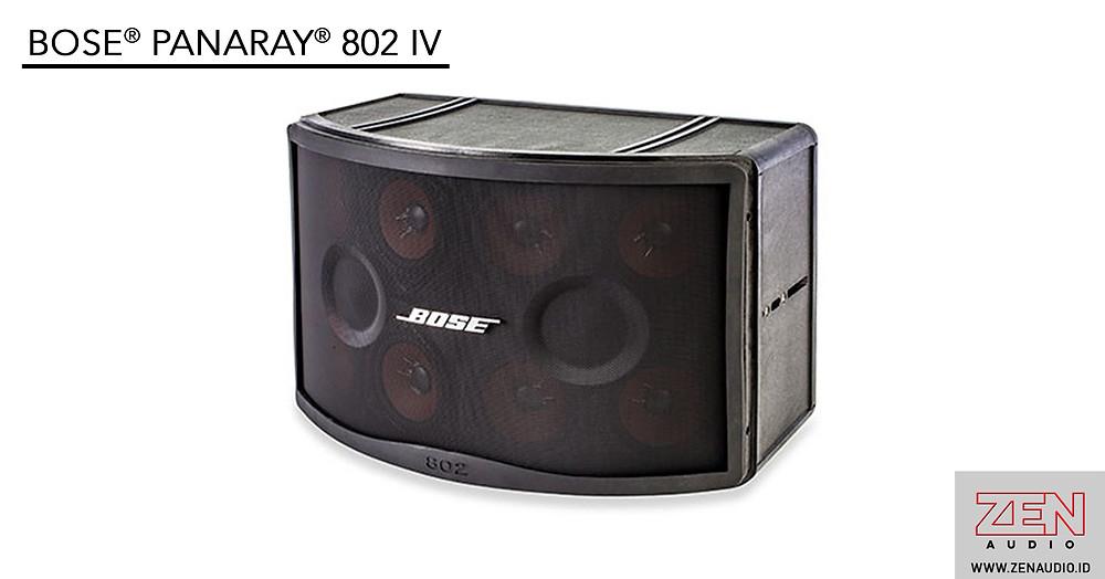 Jual speaker Bose 802 untuk seminar, live band, tempat ibadah, gereja