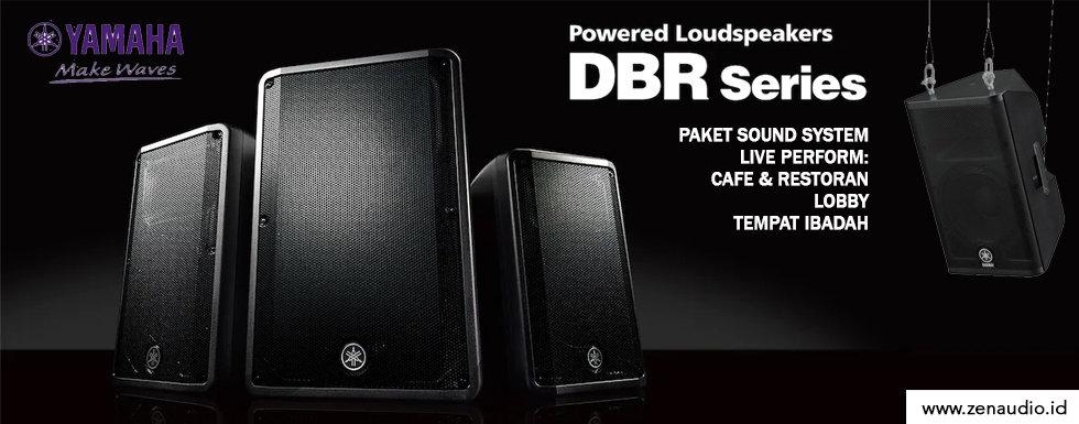 "Yamaha DBR 12"" - Sound System untuk Live Performance"